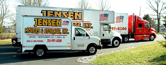 Moving Truck Companies >> Jensen Movers Storage Inc Montgomeryville Pa